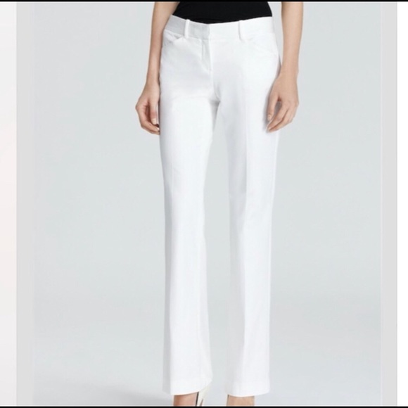 Theory Pants - Theory Max C Pants Trouser White